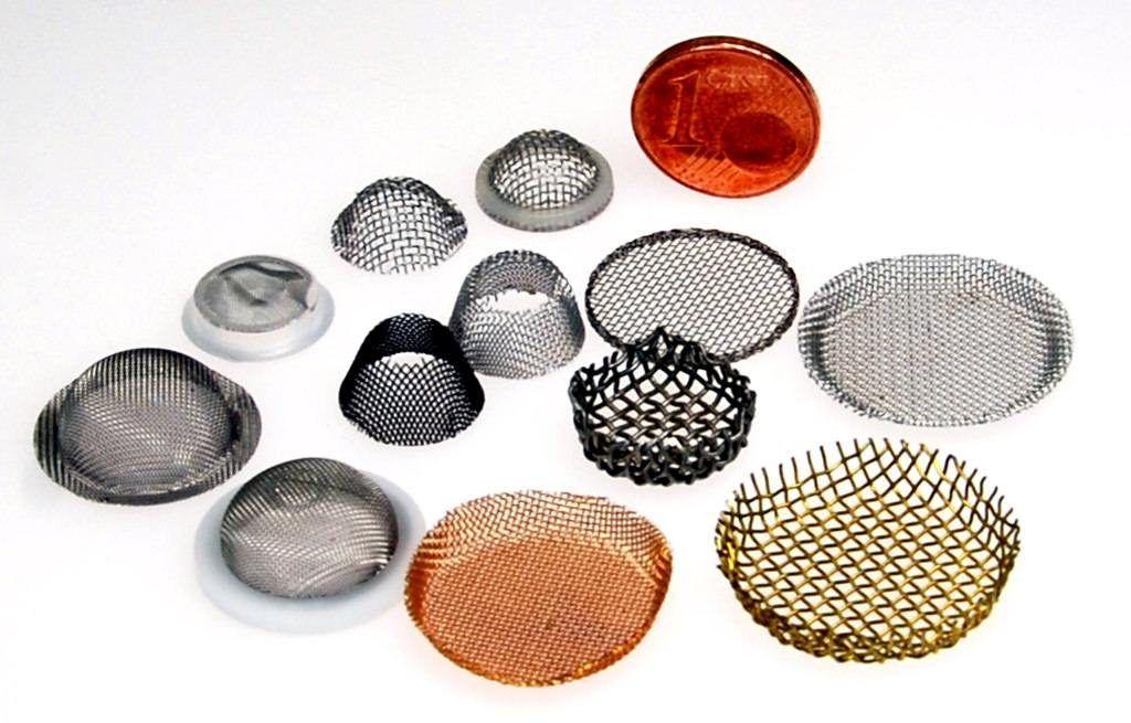 Formteile aus Metallgewebe für die Industrie